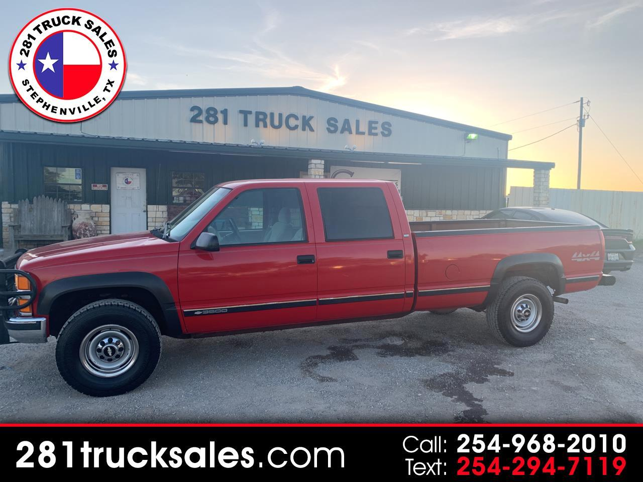 1998 Chevrolet C/K 3500 Crew Cab Long Bed 4WD
