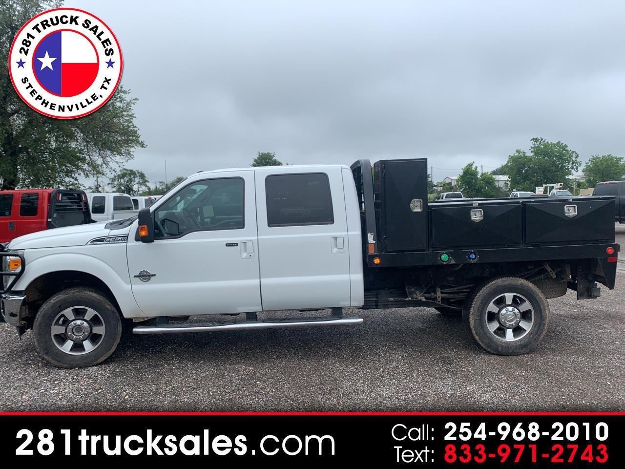 Ford F-350 SD XLT Crew Cab Long Bed 4WD 2014