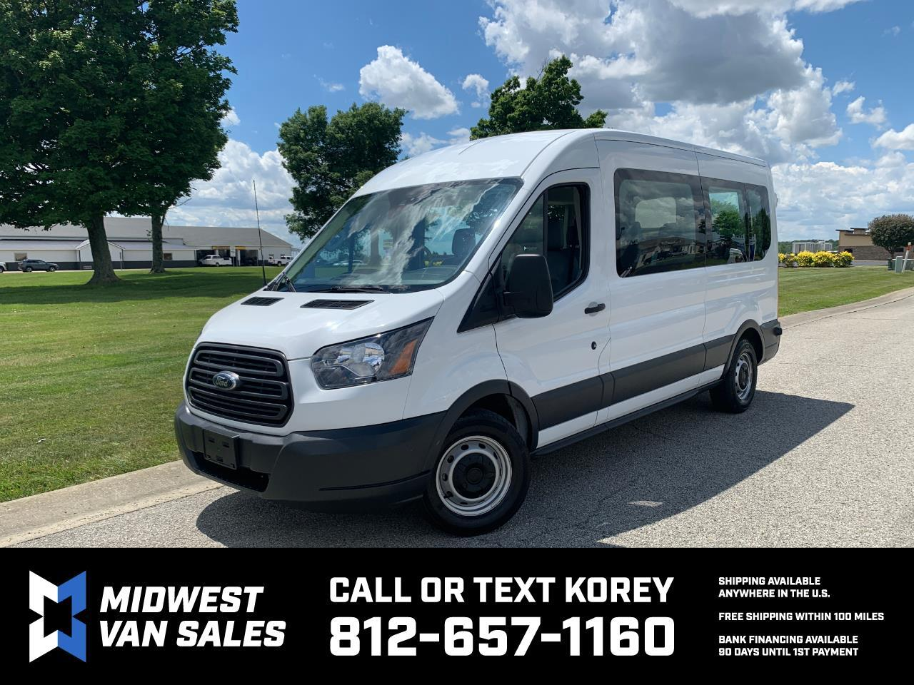 Ford Transit 350 Wagon Med. Roof XL w/Sliding Pass. 148-in. WB 2018