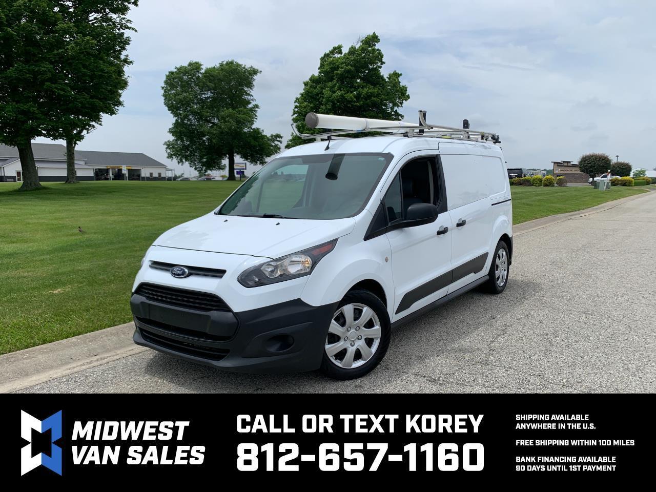 Ford Transit Connect Cargo Van XL LWB w/Rear 180 Degree Door 2017