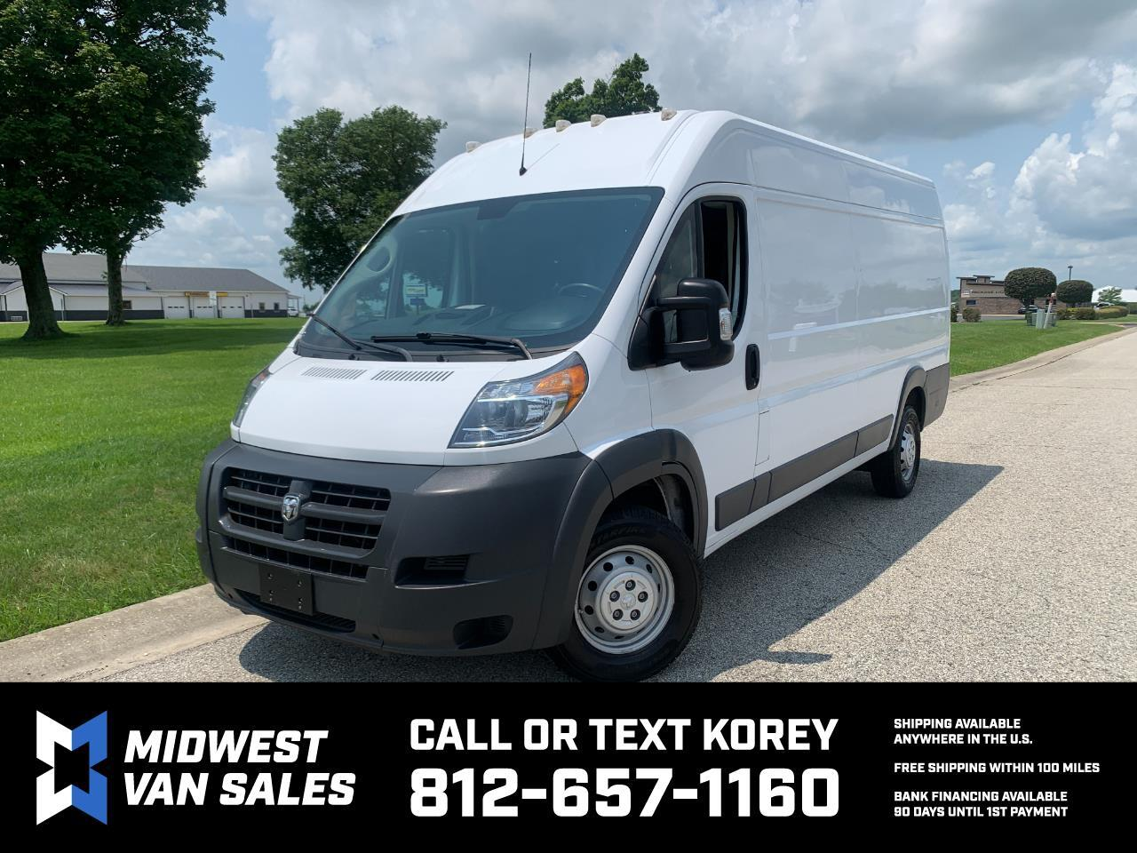 RAM Promaster 3500 High Roof Tradesman 159-in. WB Ext 2018