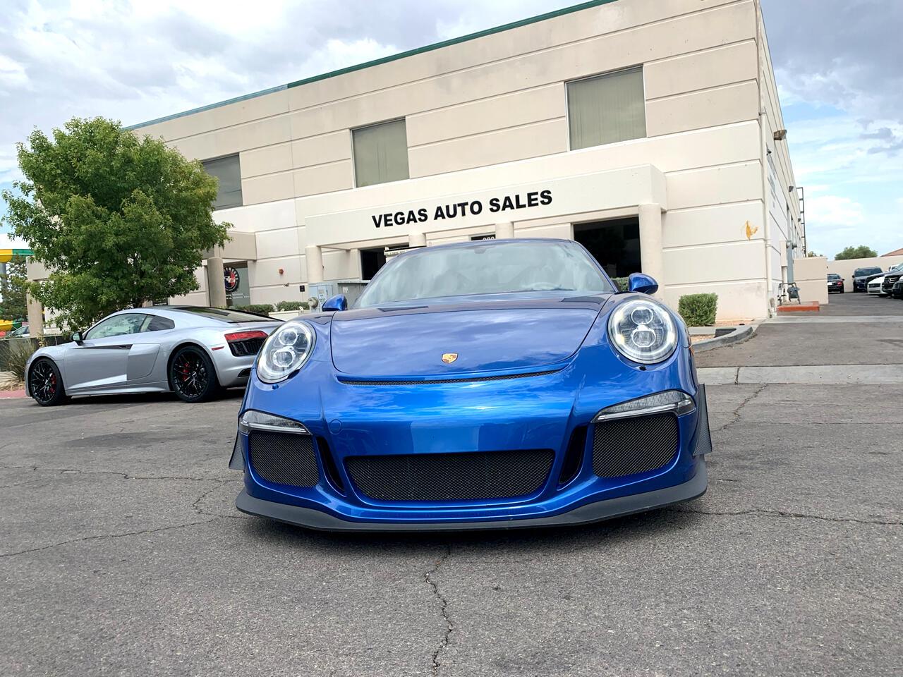 2014 Porsche 911 2dr Cpe GT3