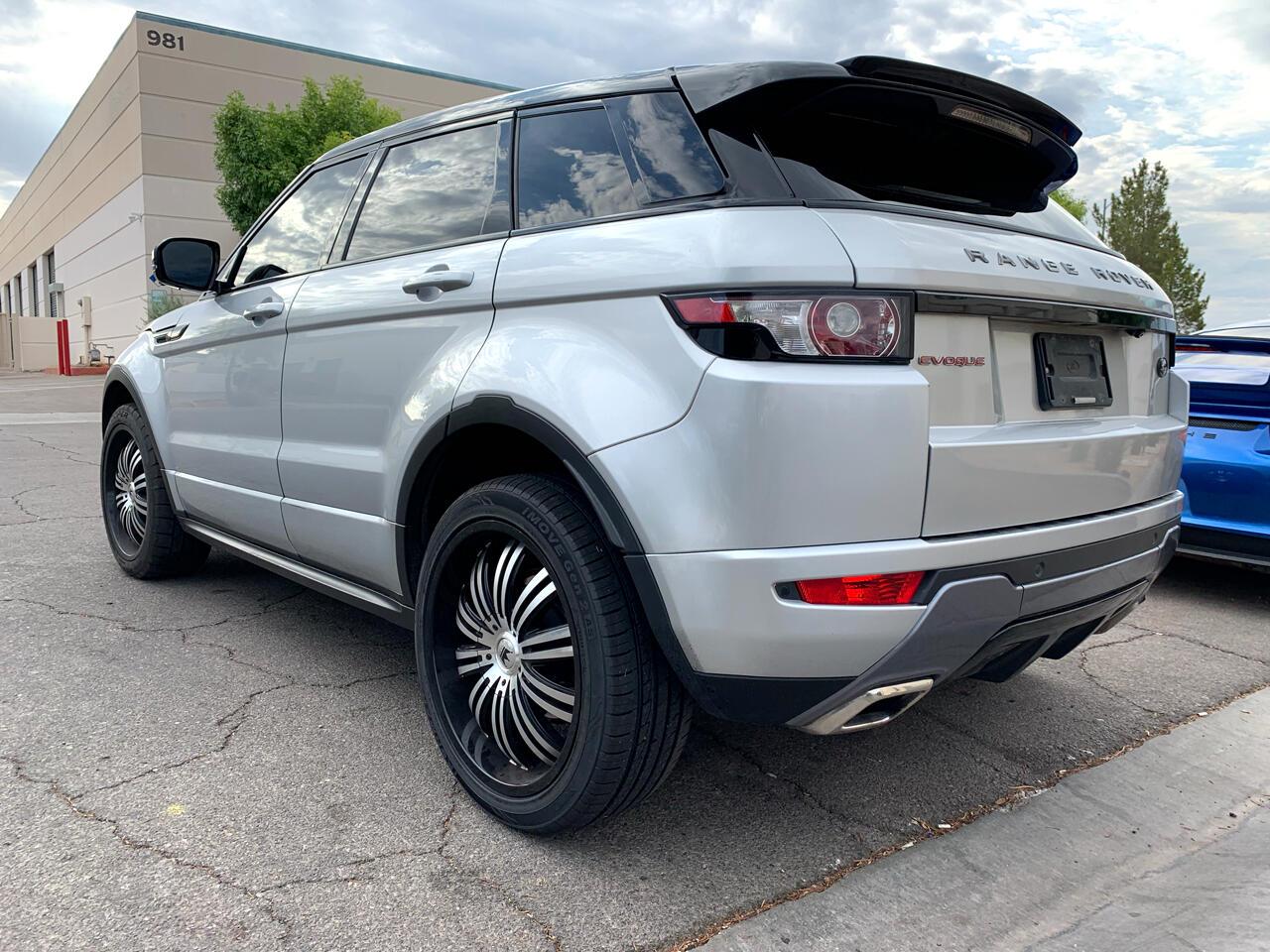 2012 Land Rover Range Rover Evoque 5dr HB Dynamic Premium