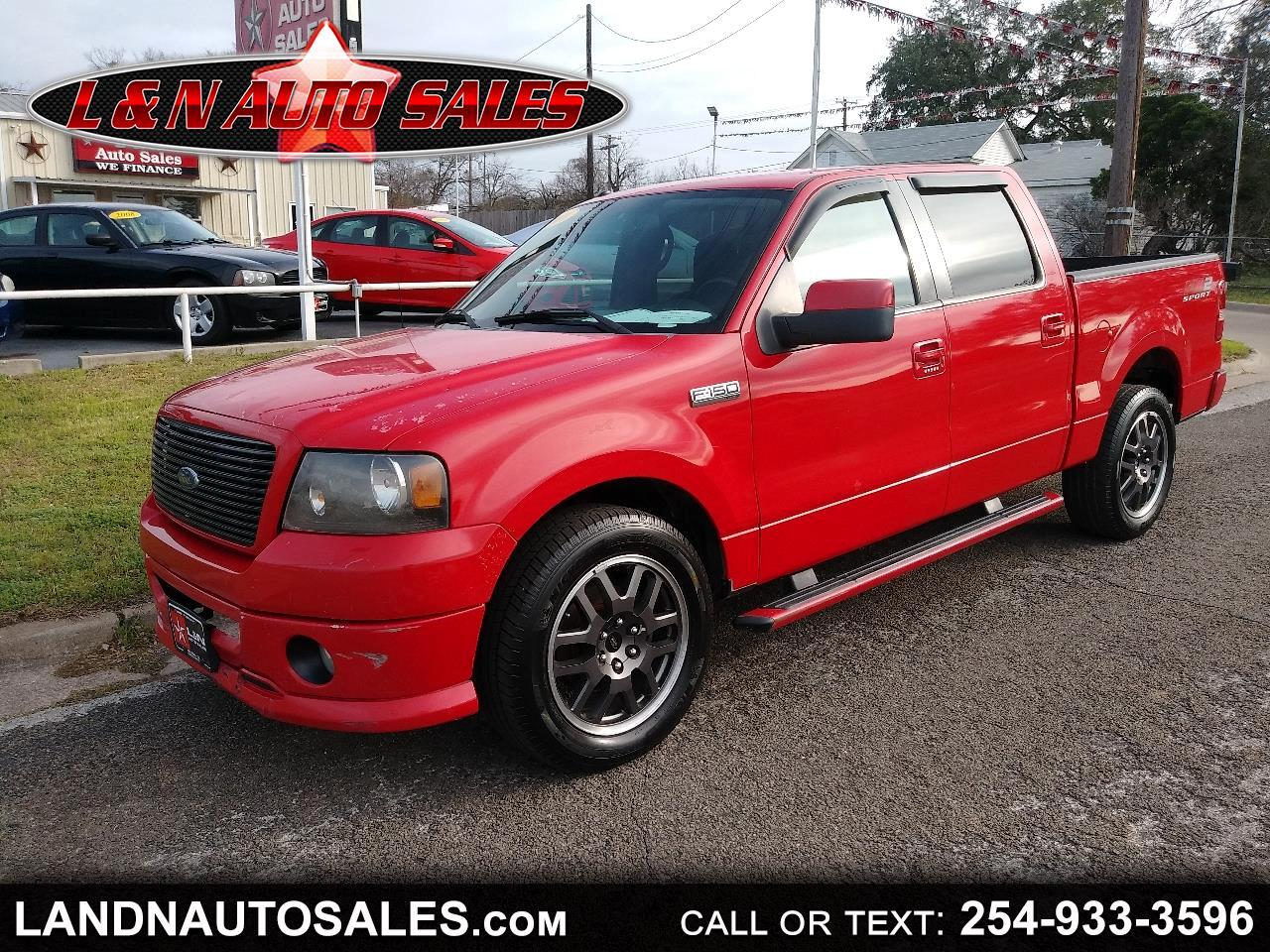 """Ford F-150 2WD SuperCrew 150"""" FX2 2008"""