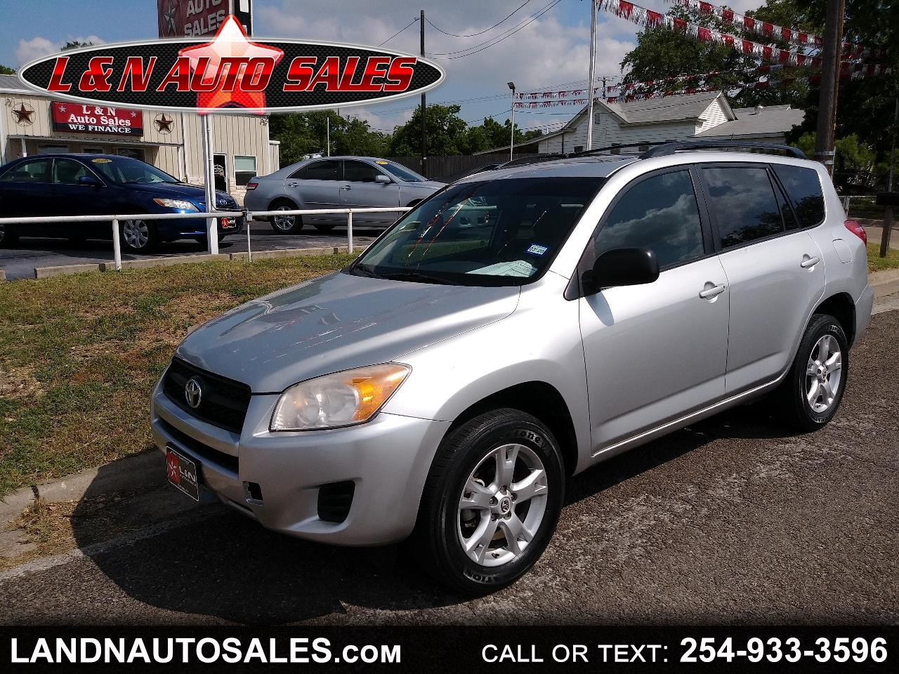 Toyota RAV4 FWD 4dr 4-cyl 4-Spd AT (Natl) 2011