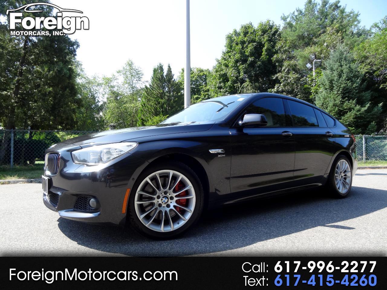 BMW 5-Series Gran Turismo 550i xDrive 2012