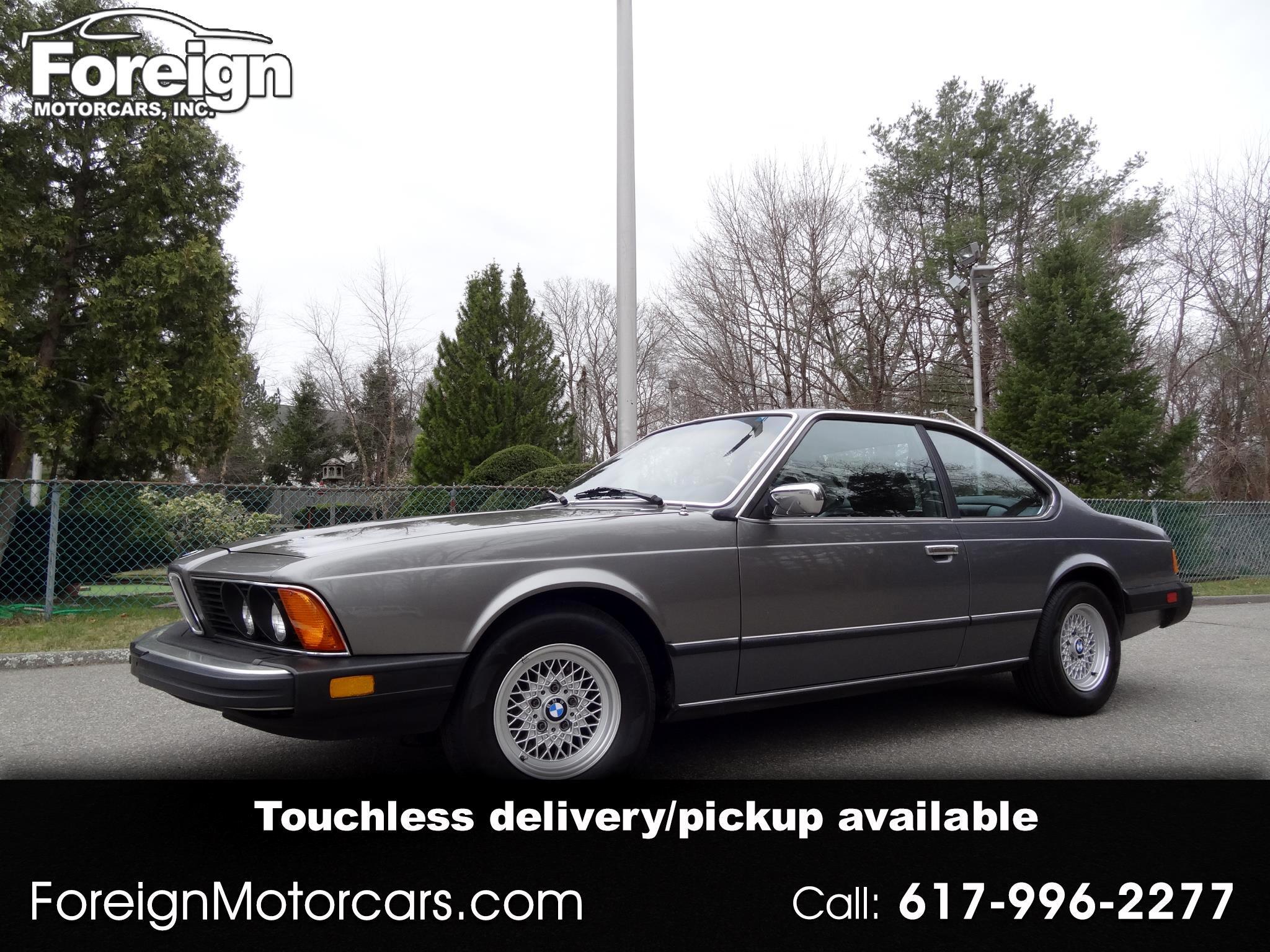 BMW 6-Series 633CSI automatic 1982