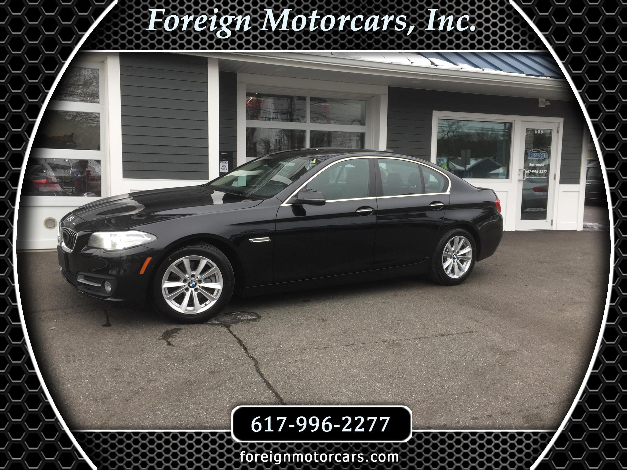 BMW 5-Series 528i xDrive 2016