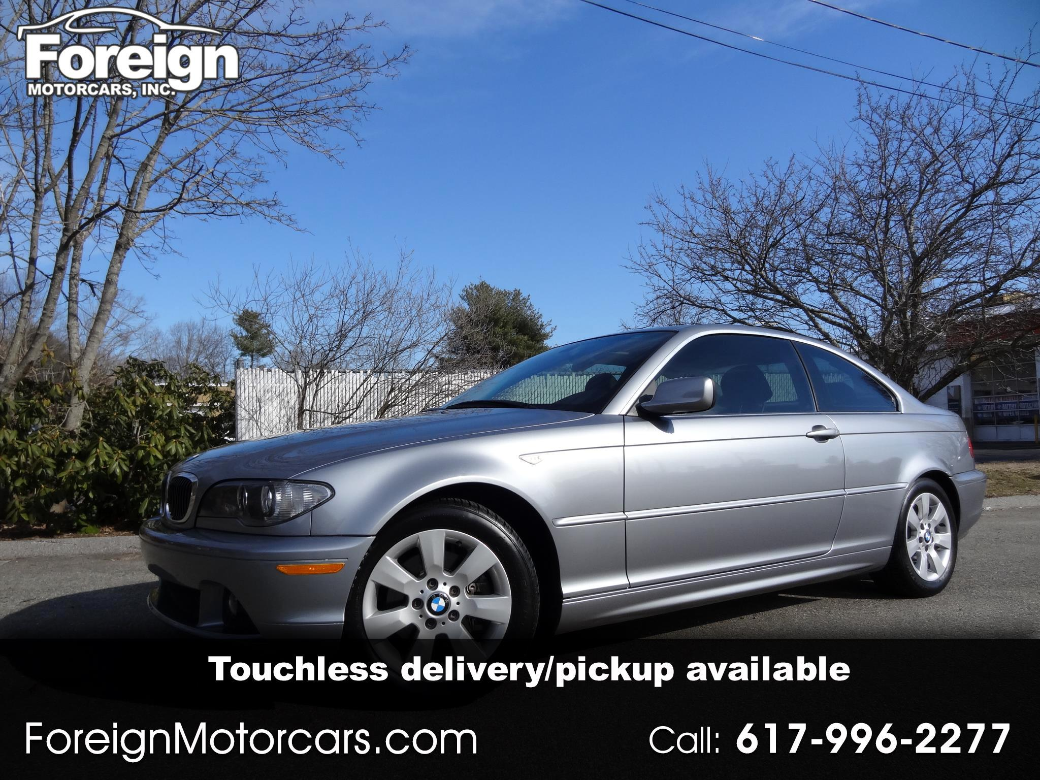 BMW 3-Series 325Ci coupe 2006