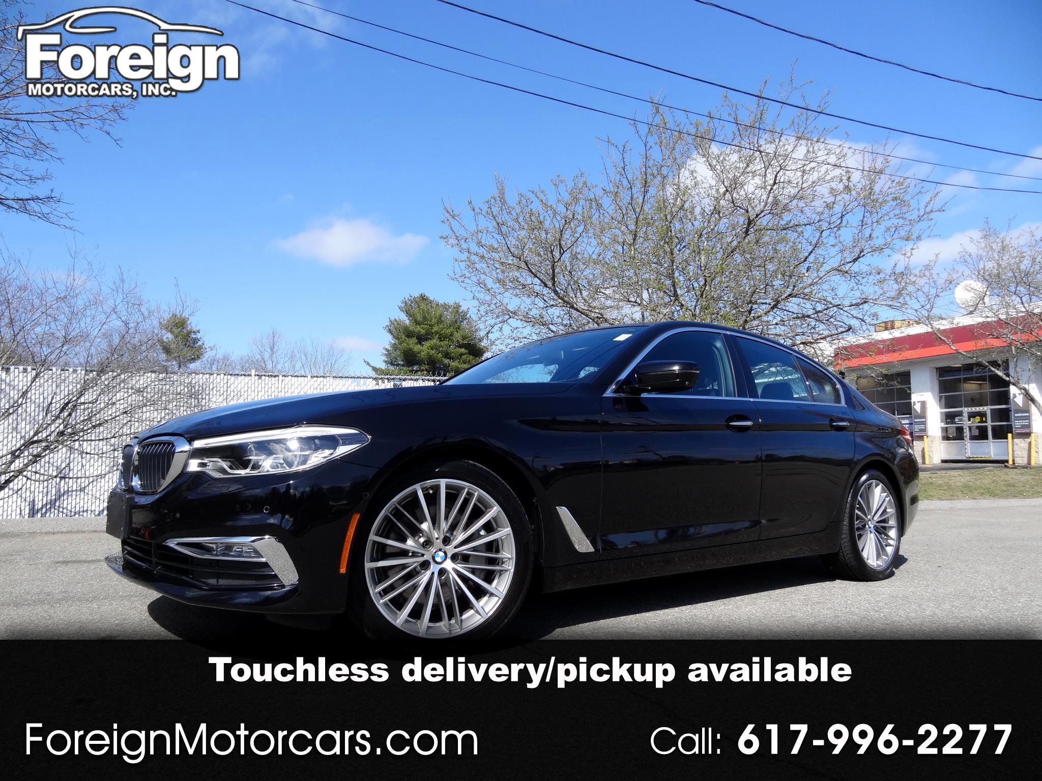 BMW 5-Series 540i xDrive 2017