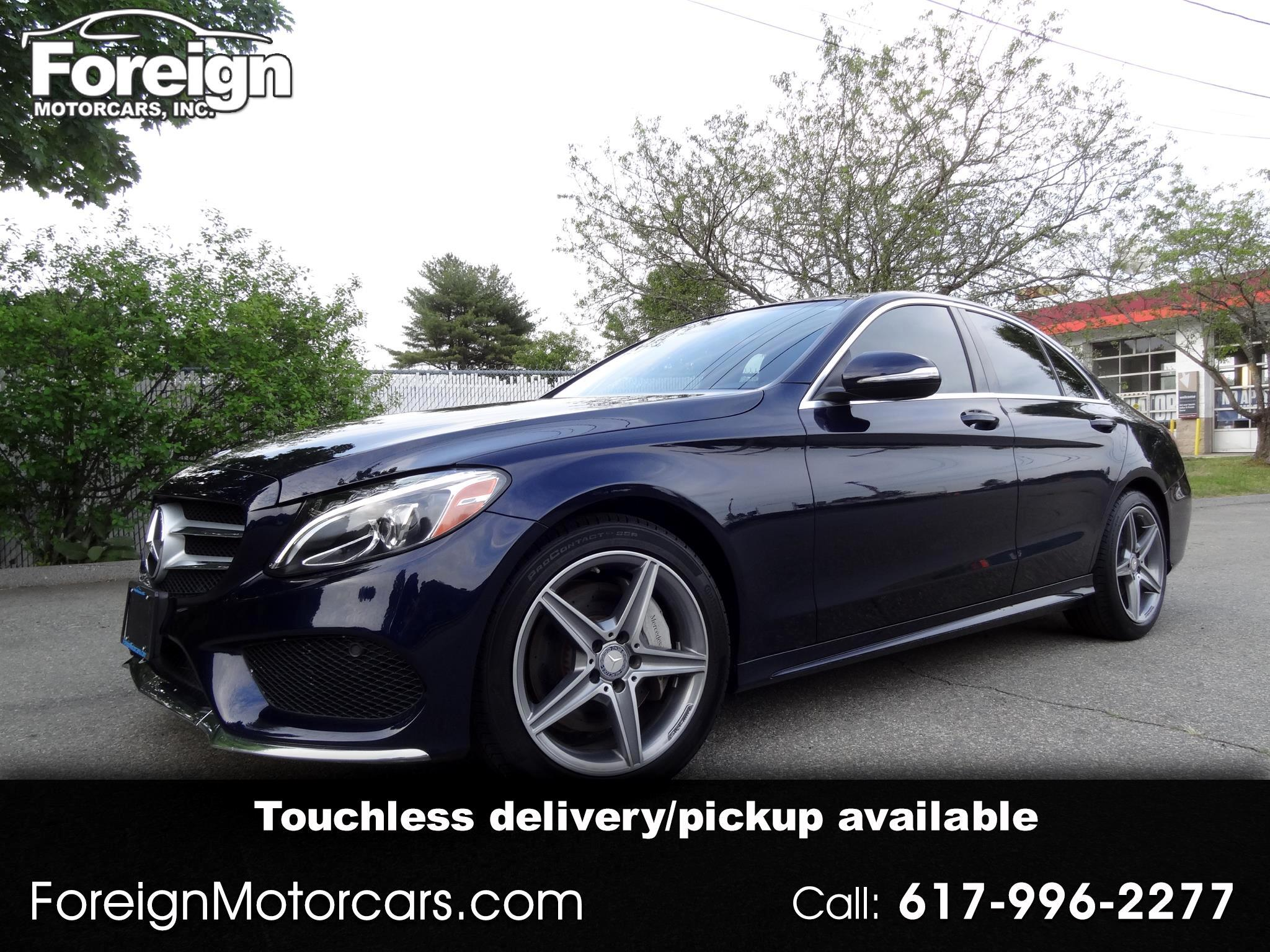 Mercedes-Benz C-Class C300 4MATIC Sedan 2015