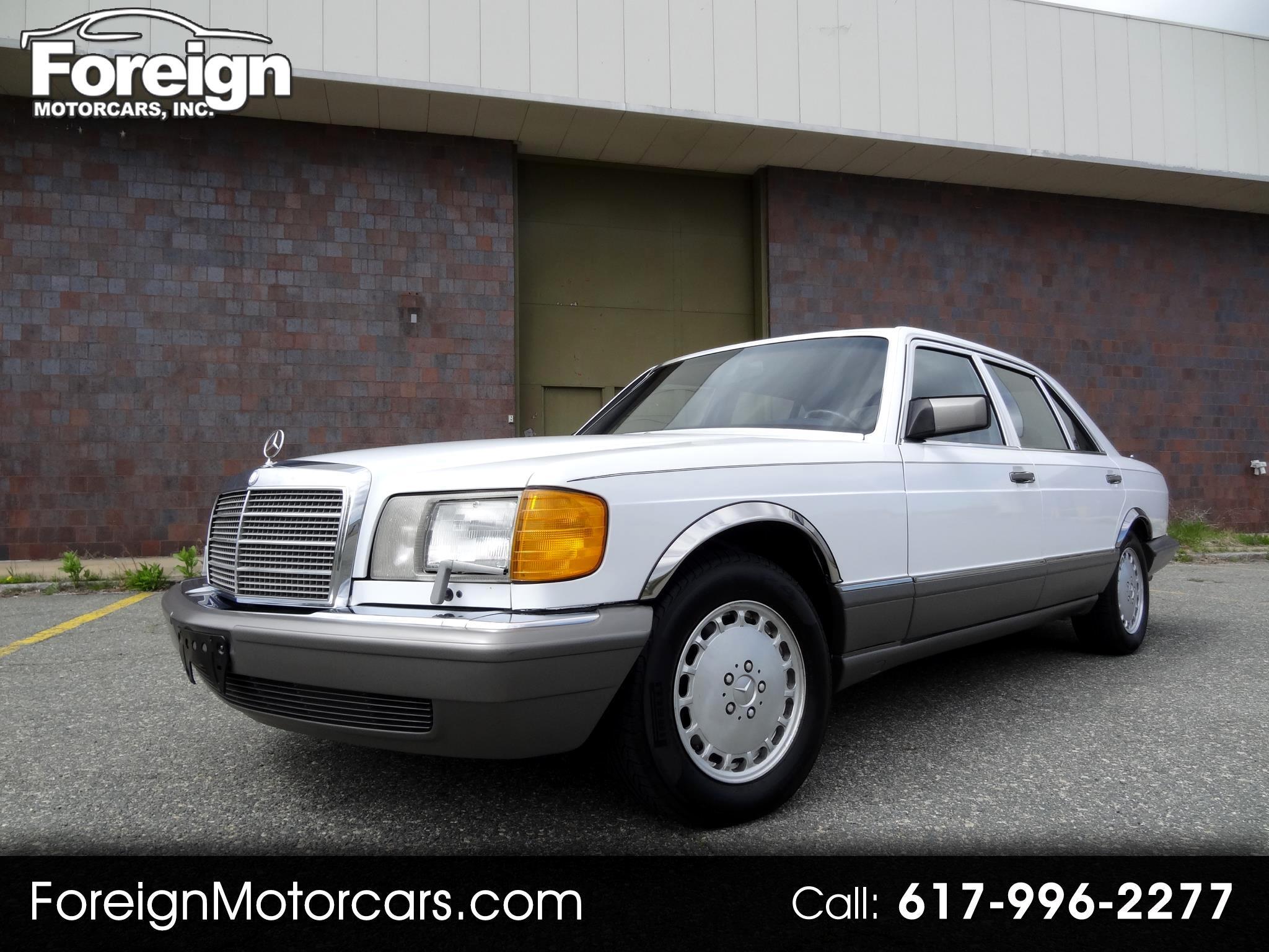Mercedes-Benz 420 SEL sedan 1988