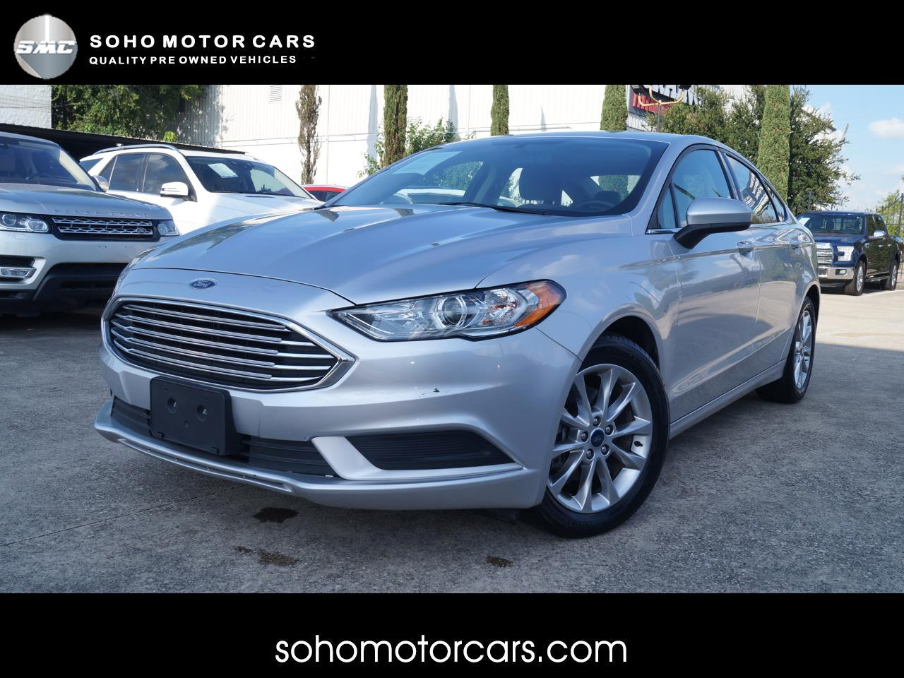 Ford Fusion 4dr Sdn I4 SE FWD 2017
