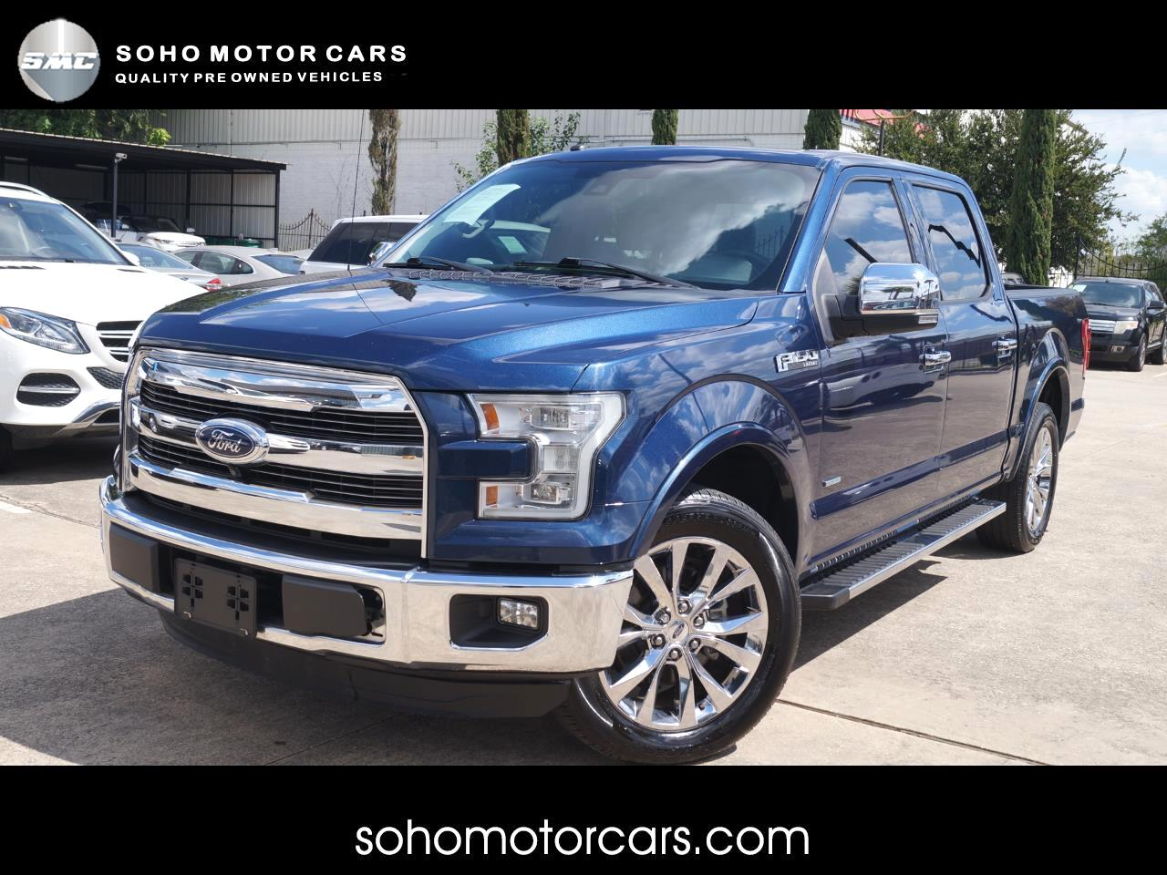 Ford F-150 Lariat SuperCrew 5.5-ft. Bed 2WD 2016