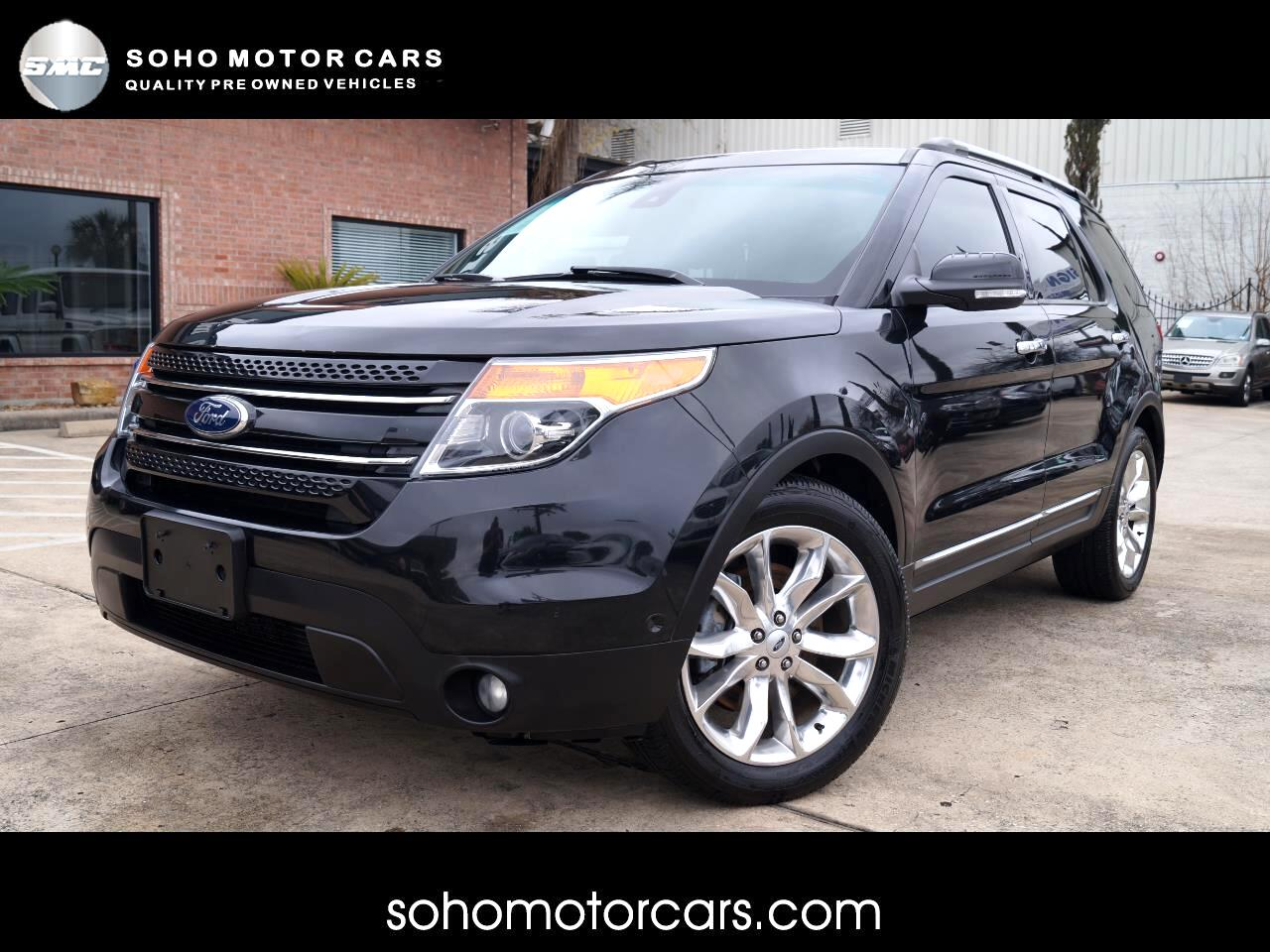Ford Explorer Limited >> Used 2013 Ford Explorer Limited Fwd For Sale In Houston Tx