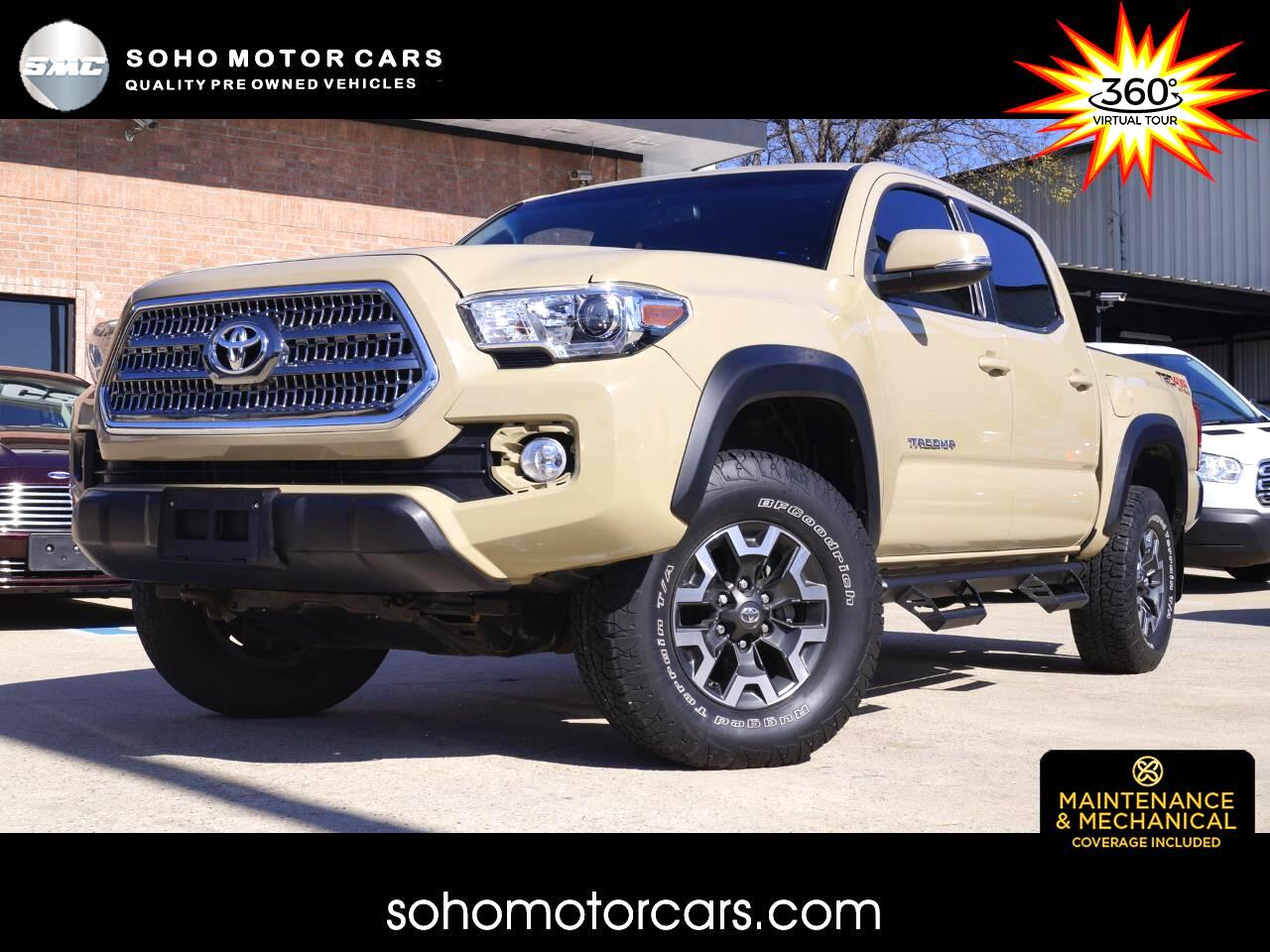 Toyota Tacoma 4WD TRD Off Road Double Cab 5' Bed V6 AT (Natl) 2017