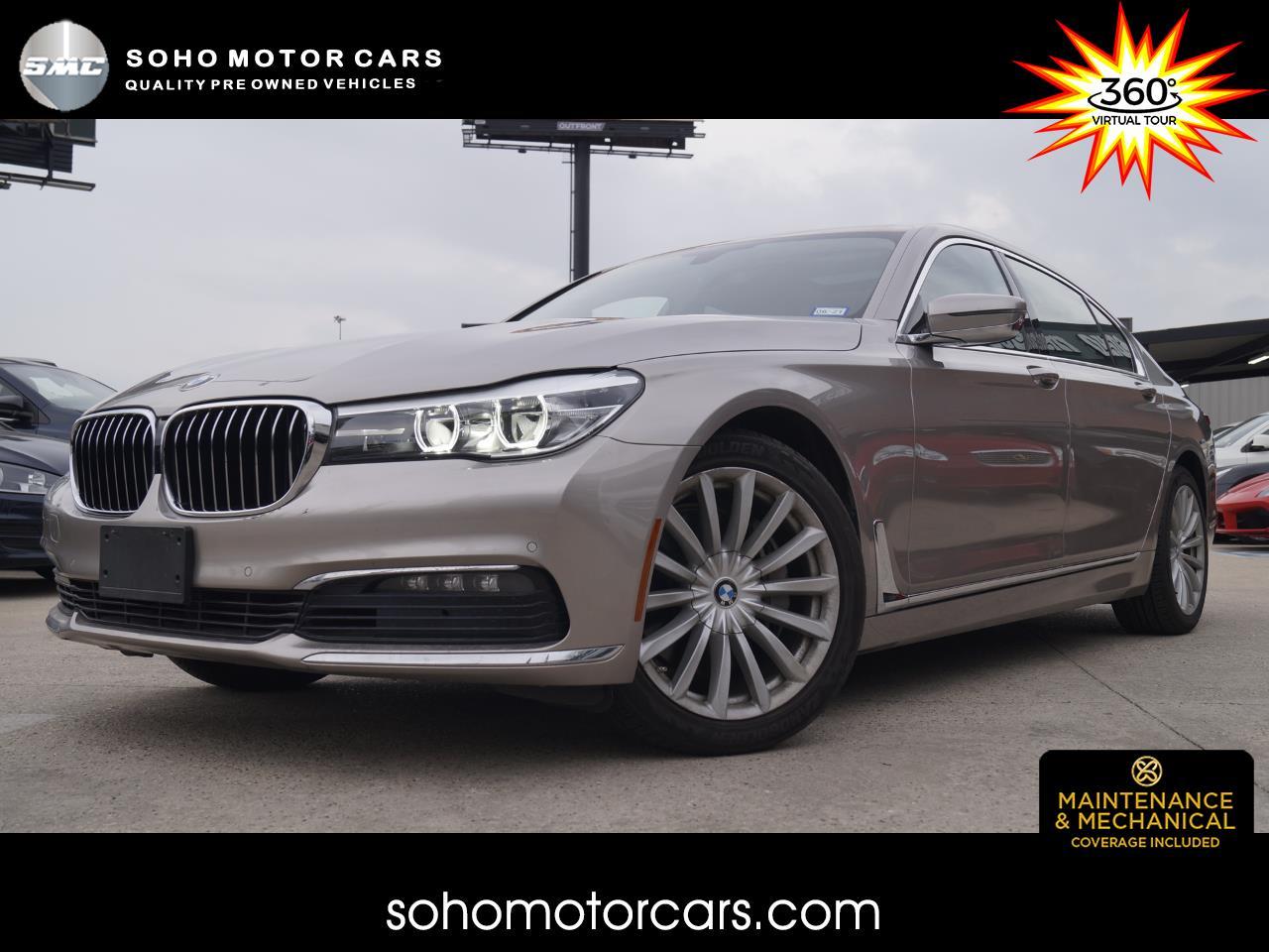BMW 7-Series 740i 4D Sedan 2016