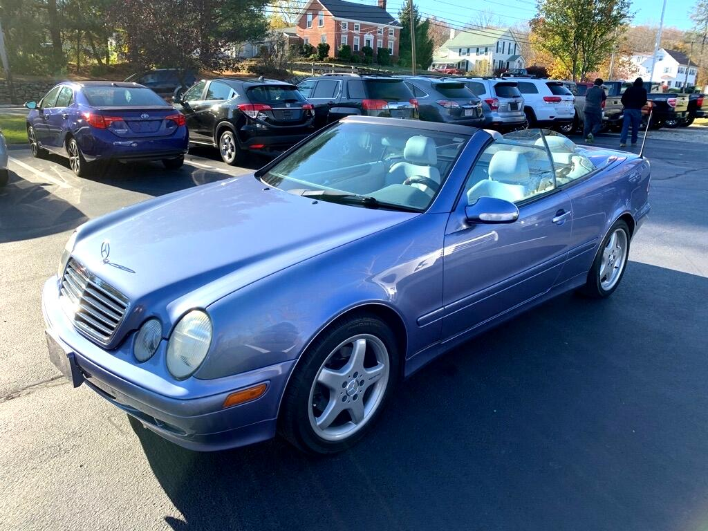 Mercedes-Benz CLK-Class  2002