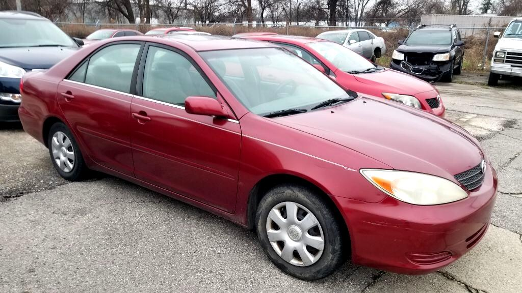 2002 Toyota Camry 4dr Sdn LE Manual (Natl)