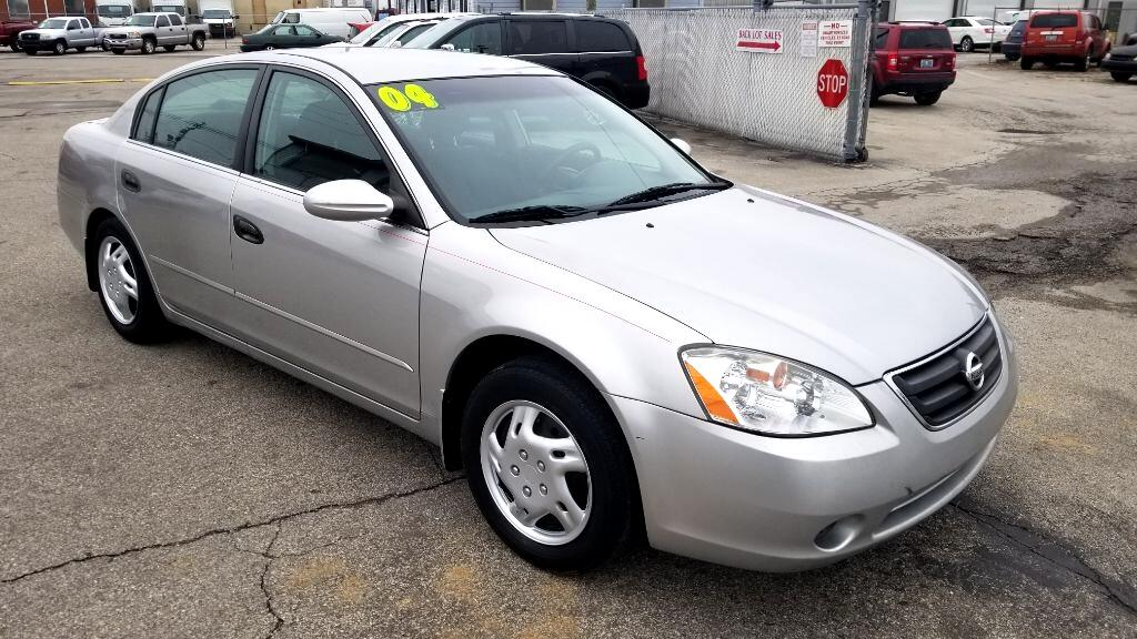 2004 Nissan Altima 4dr Sdn 2.5 S Manual