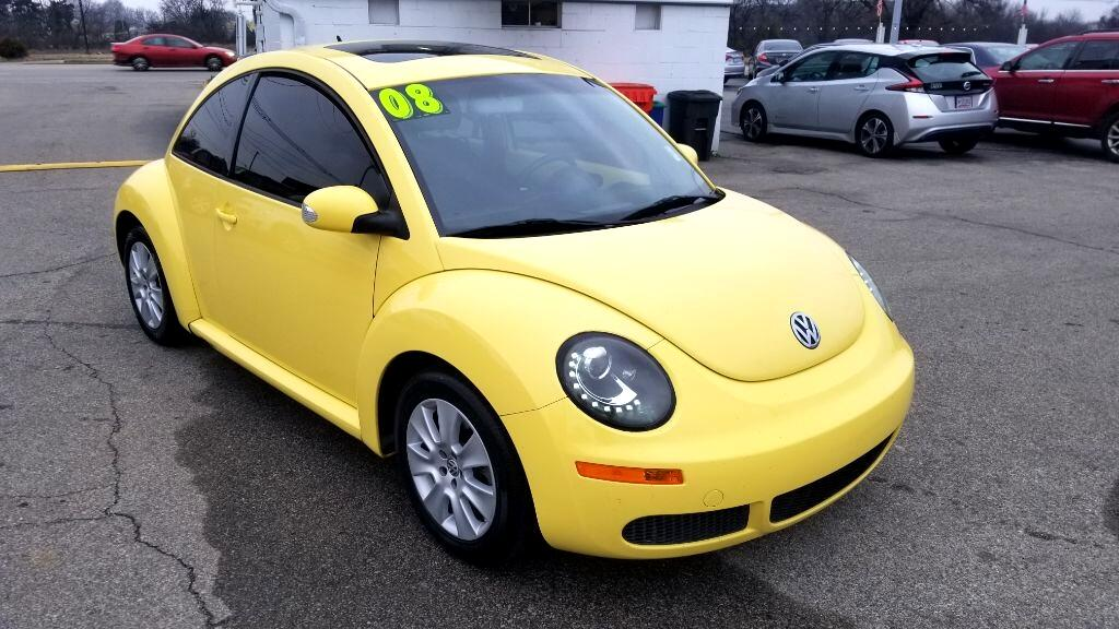 2008 Volkswagen New Beetle Coupe 2dr Auto S
