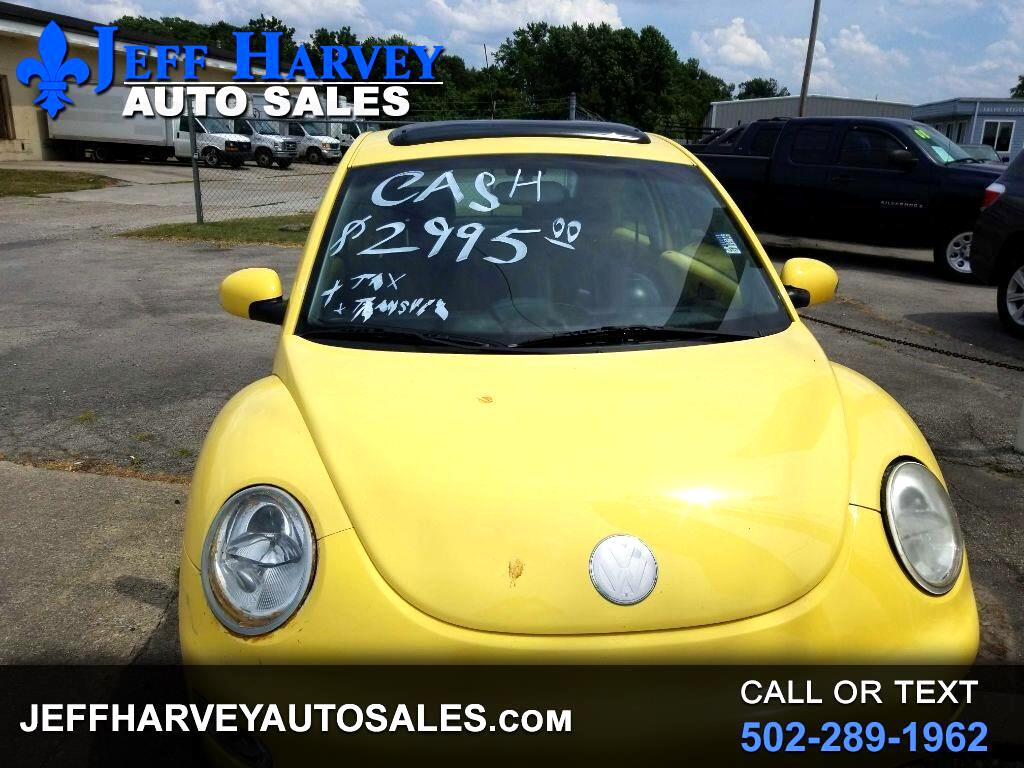 2004 Volkswagen New Beetle Coupe 2dr Cpe GLS Turbo Manual