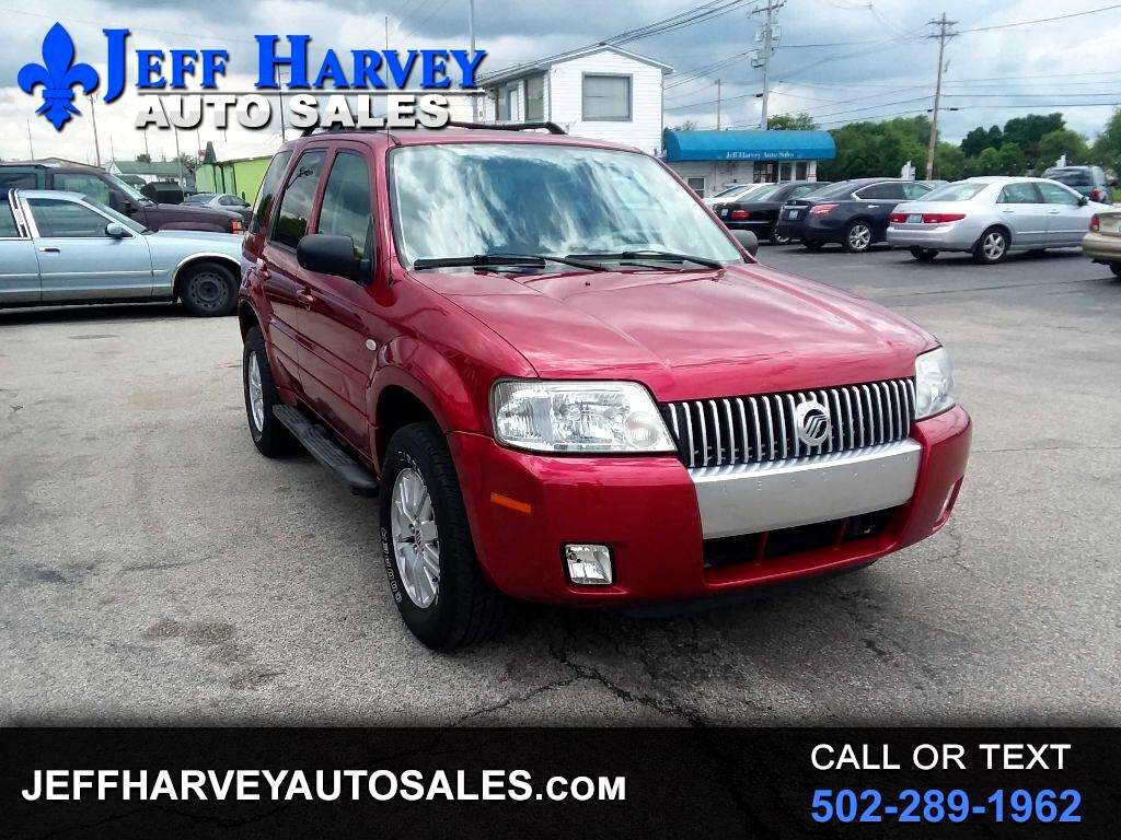 "Mercury Mariner 4dr 103"" WB Convenience 2005"
