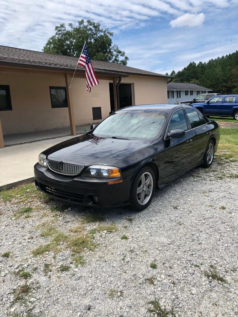 2002 Lincoln LS V8 Base