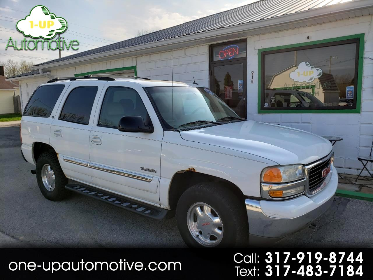 2002 GMC Yukon SLT 4dr 4WD SUV