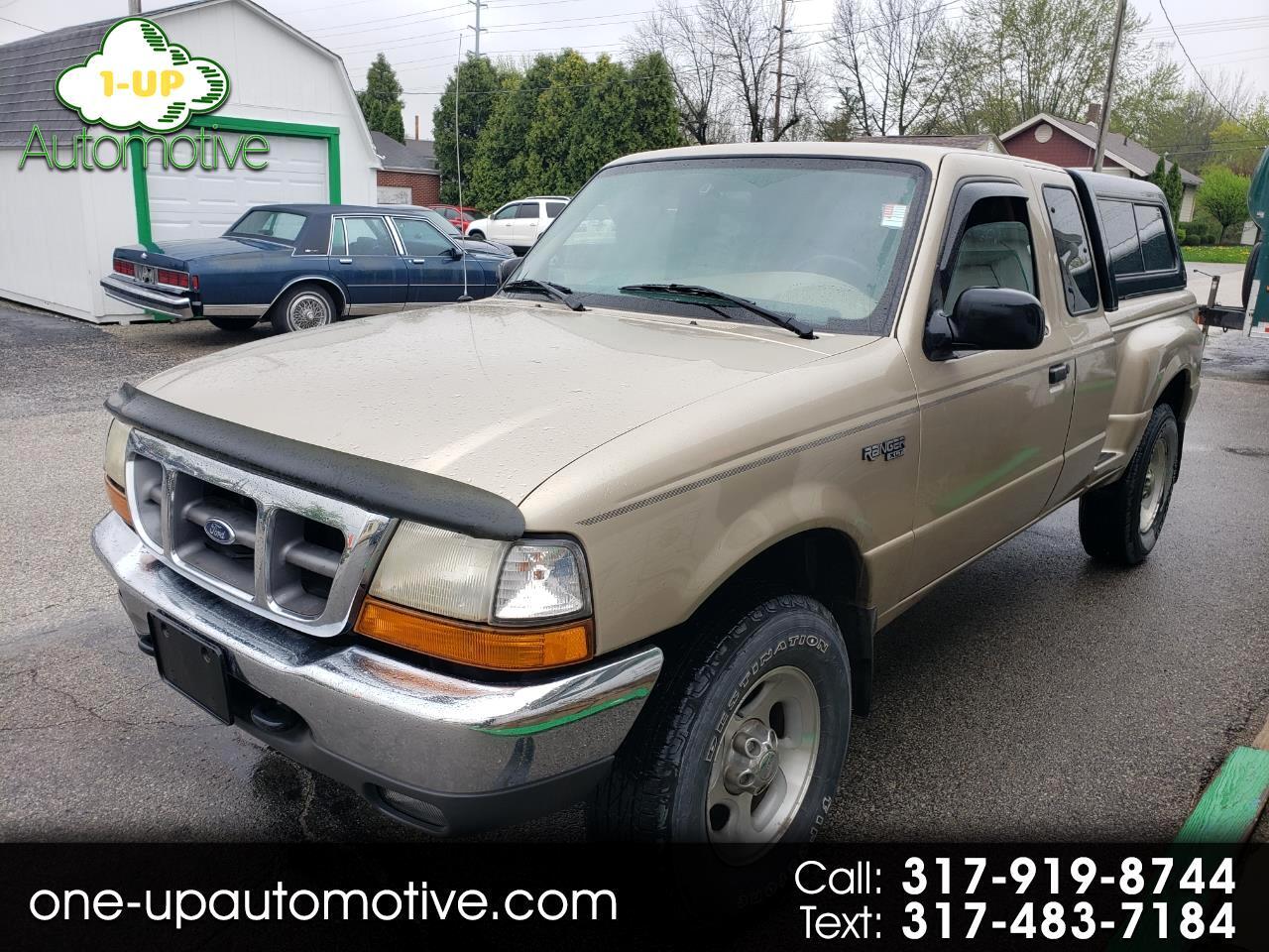 1999 Ford Ranger XLT 2dr 4WD Extended Cab Stepside SB