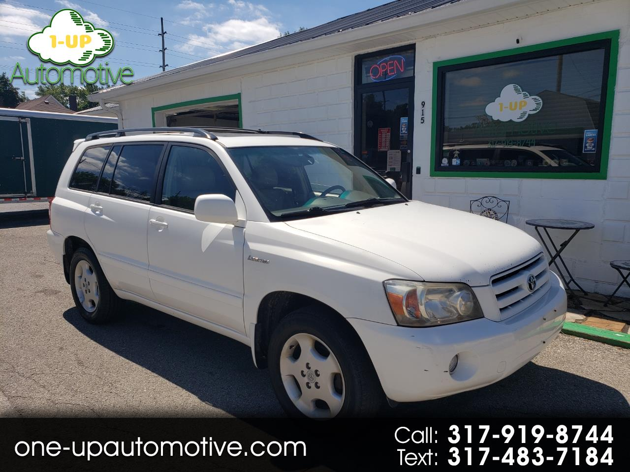 2004 Toyota Highlander Limited AWD 4dr SUV w/3rd Row
