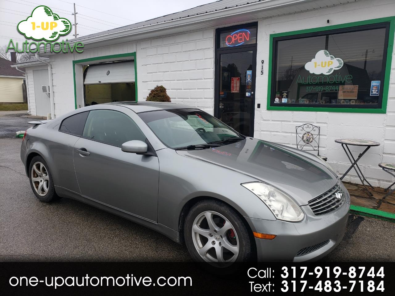 Infiniti G35 Coupe 2dr Cpe Auto w/Leather 2003