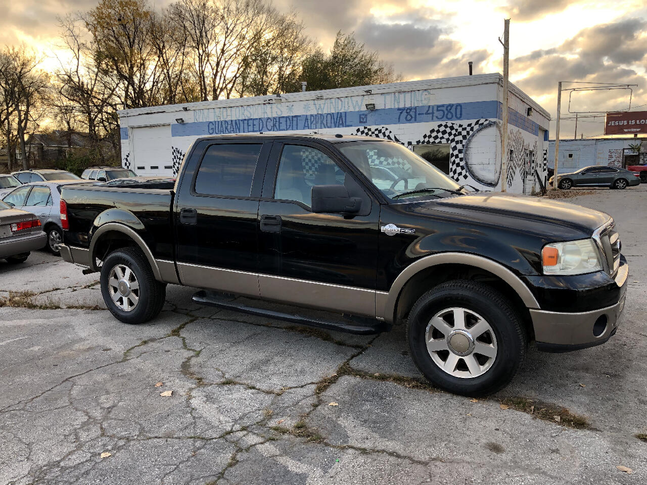 """Ford F-150 SuperCrew Crew Cab 139"""" King Ranch 4WD 2006"""
