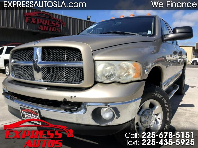 Dodge Ram 2500 Laramie Quad Cab Short Bed 4WD 2003