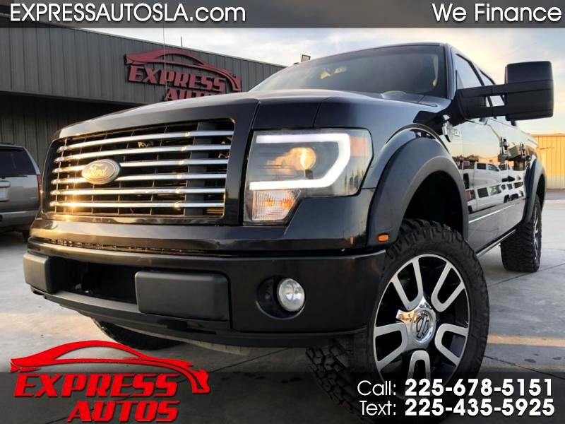 Ford F-150 Lariat SuperCrew 5.5-ft. Bed 4WD 2010