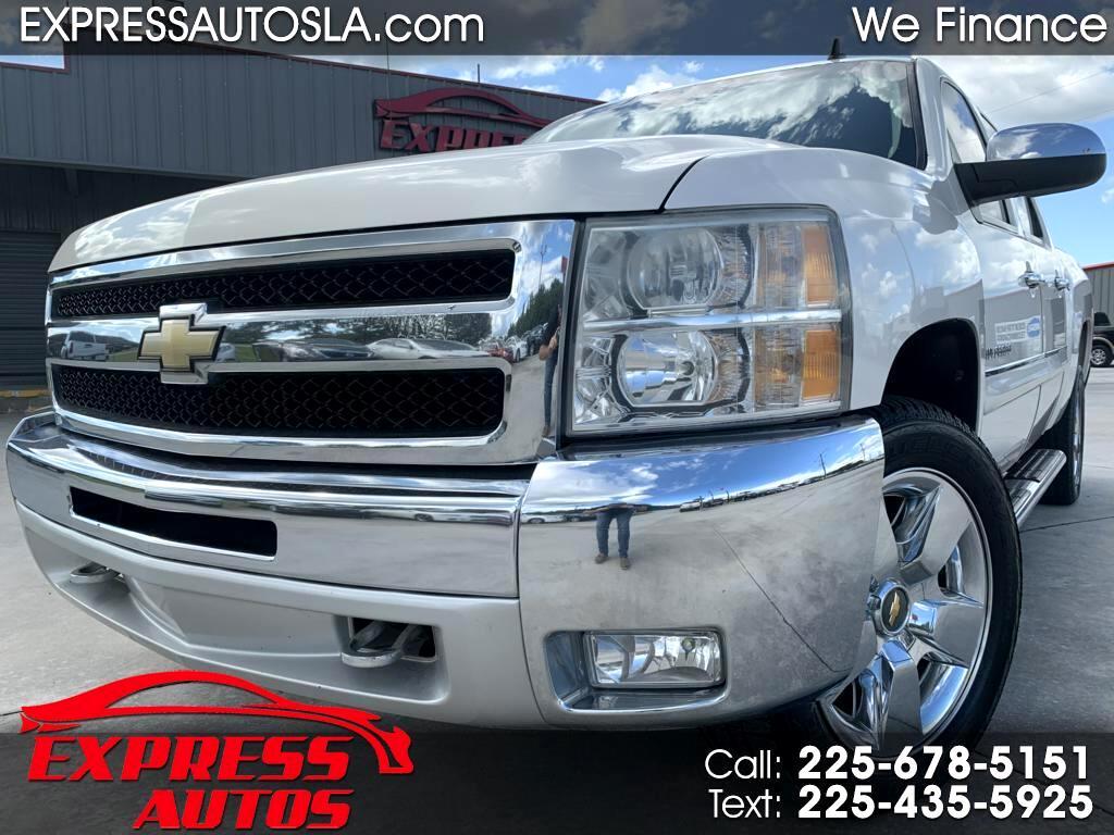 Chevrolet Silverado 1500 LT Crew Cab 2WD 2011
