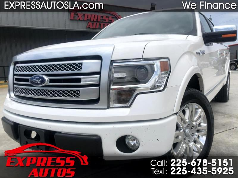 Ford F-150 Platinum SuperCrew 5.5-ft. Bed 2WD 2013