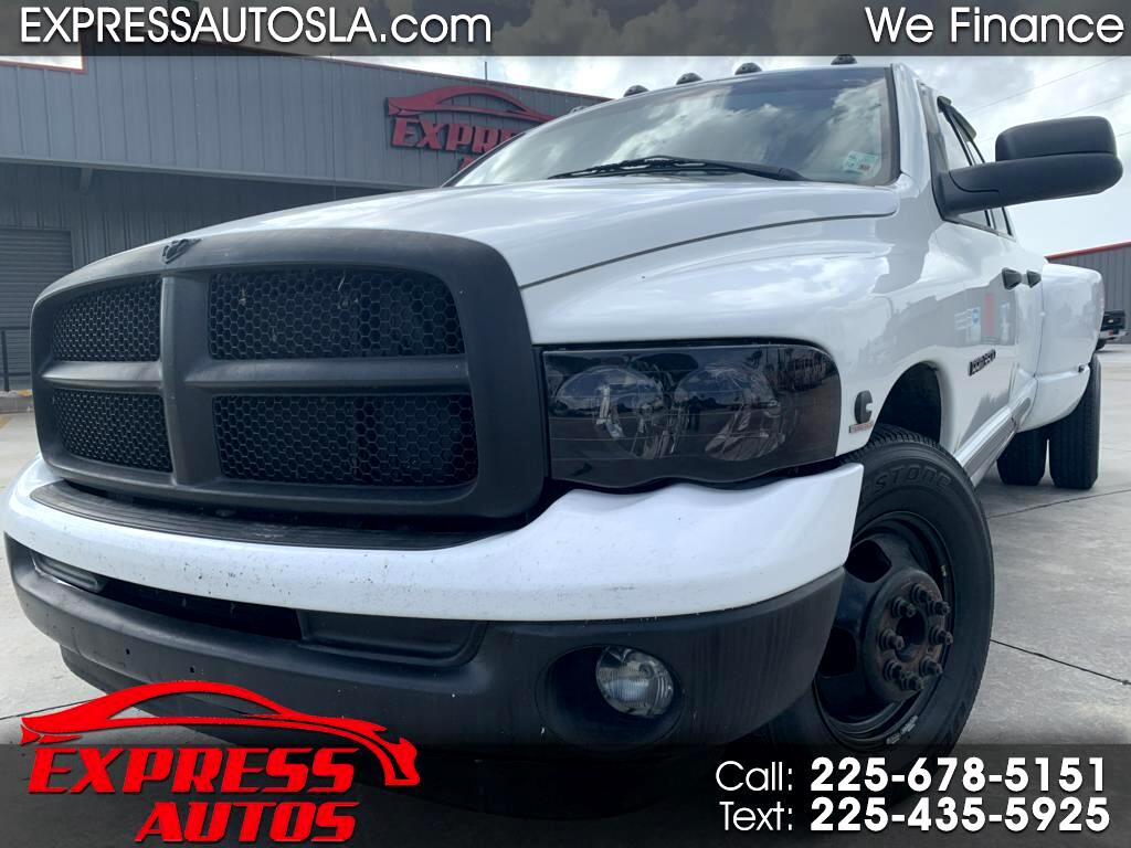 Dodge Ram 3500 SLT Quad Cab Long Bed 2WD DRW 2004