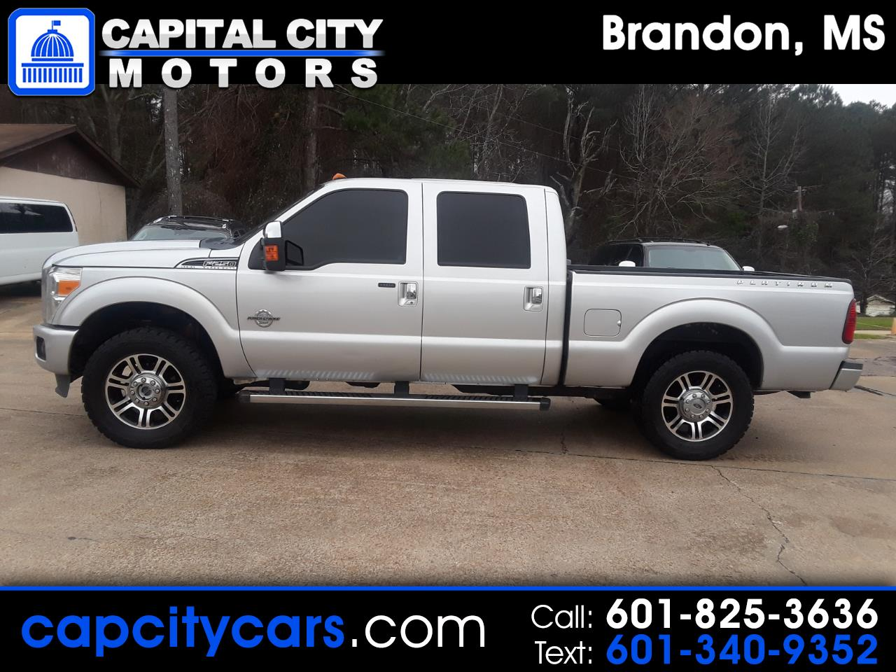 "Ford Super Duty F-250 SRW 4WD Crew Cab 172"" Platinum 2015"