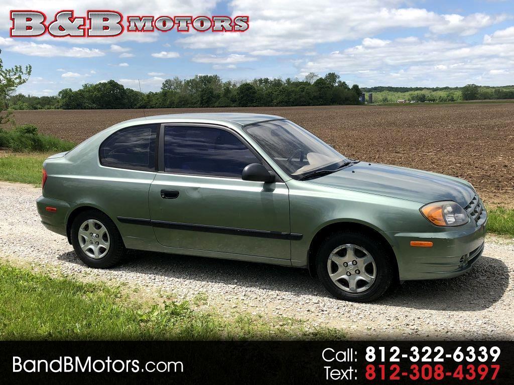 2003 Hyundai Accent 3-door