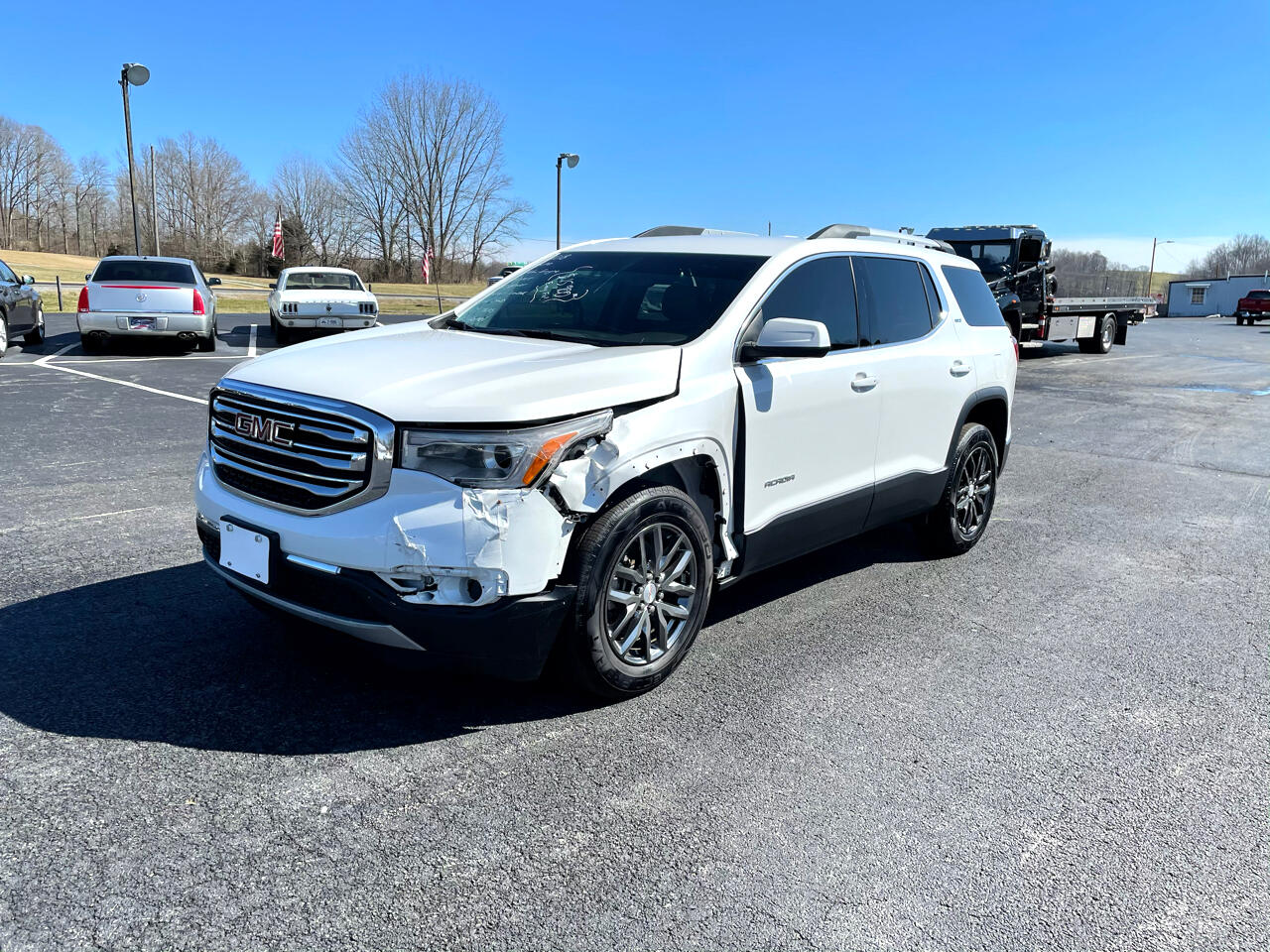 GMC Acadia FWD 4dr SLT w/SLT-1 2018