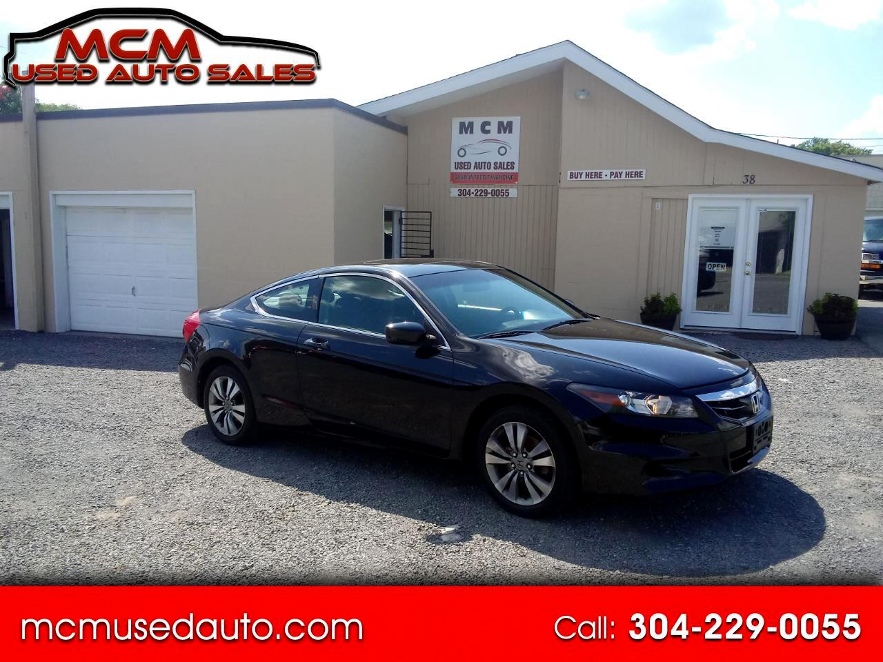 Honda Accord EX coupe AT 2012
