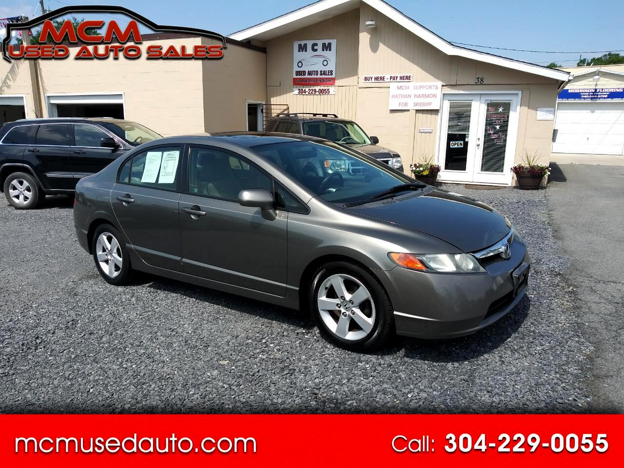 Honda Civic EX Sedan with Navigation 2006