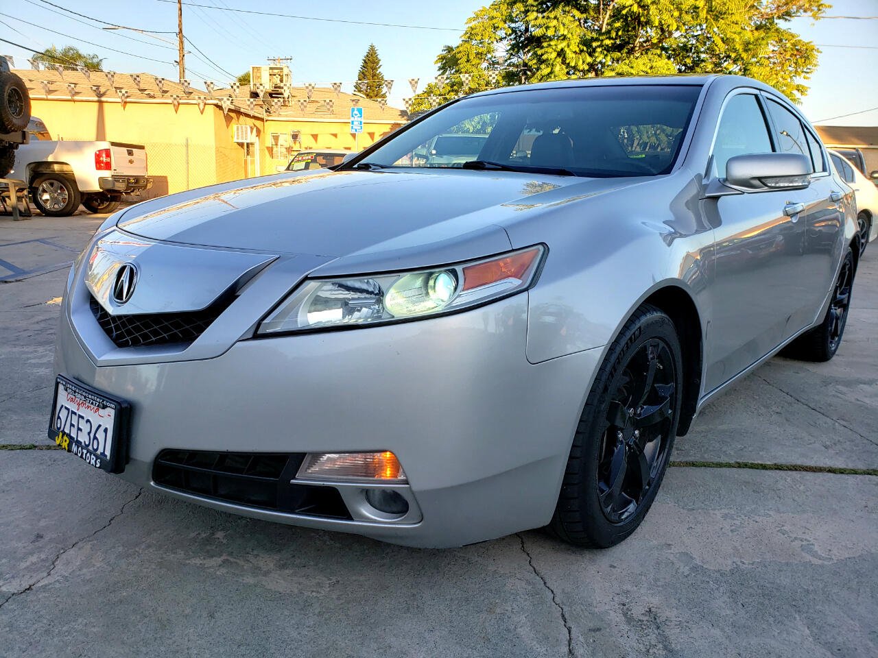 2011 Acura TL 6-Speed AT SH-AWD with Tech Package