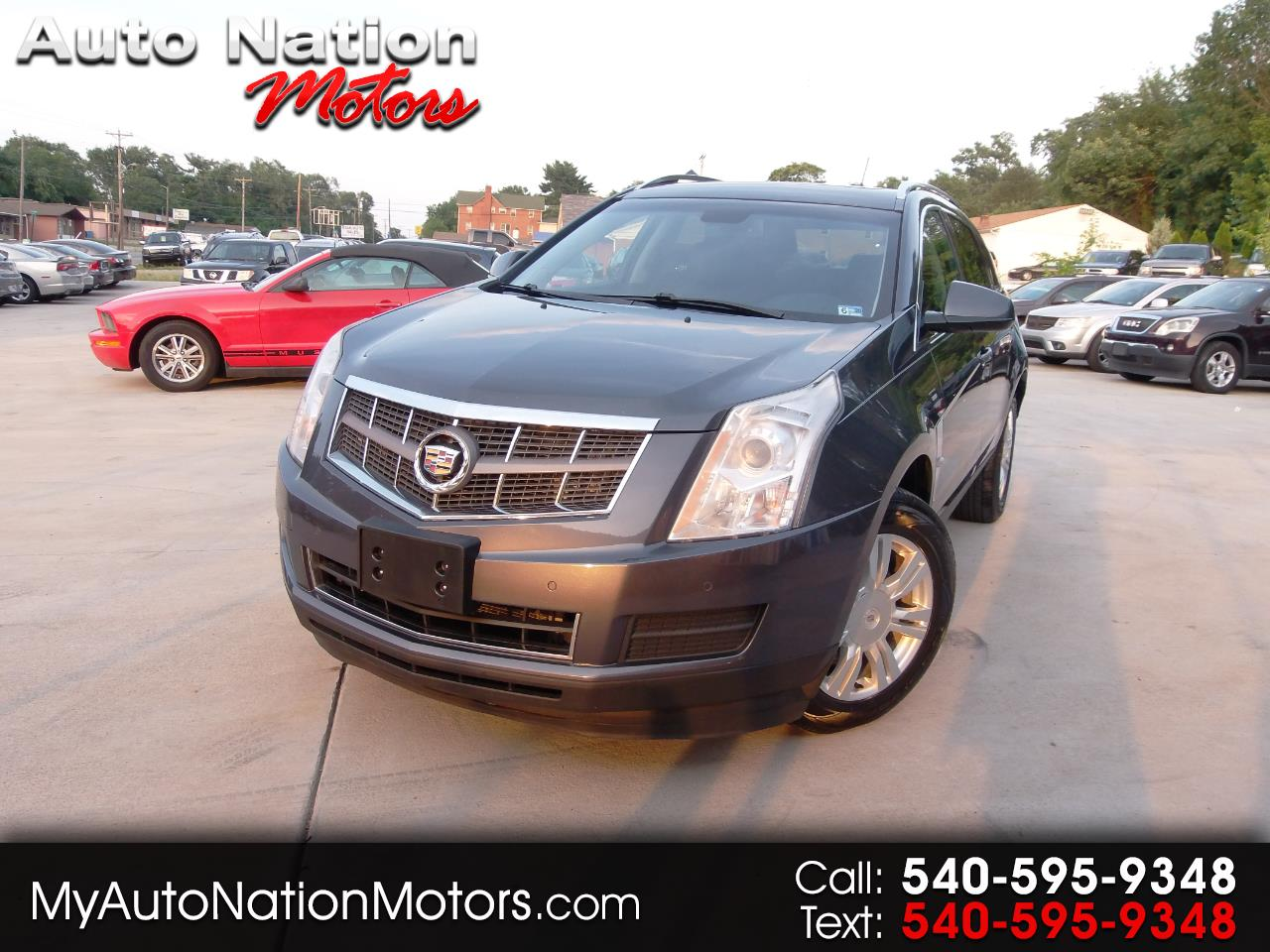 Used 2011 Cadillac Srx Luxury Collection Awd For Sale In Roanoke Va
