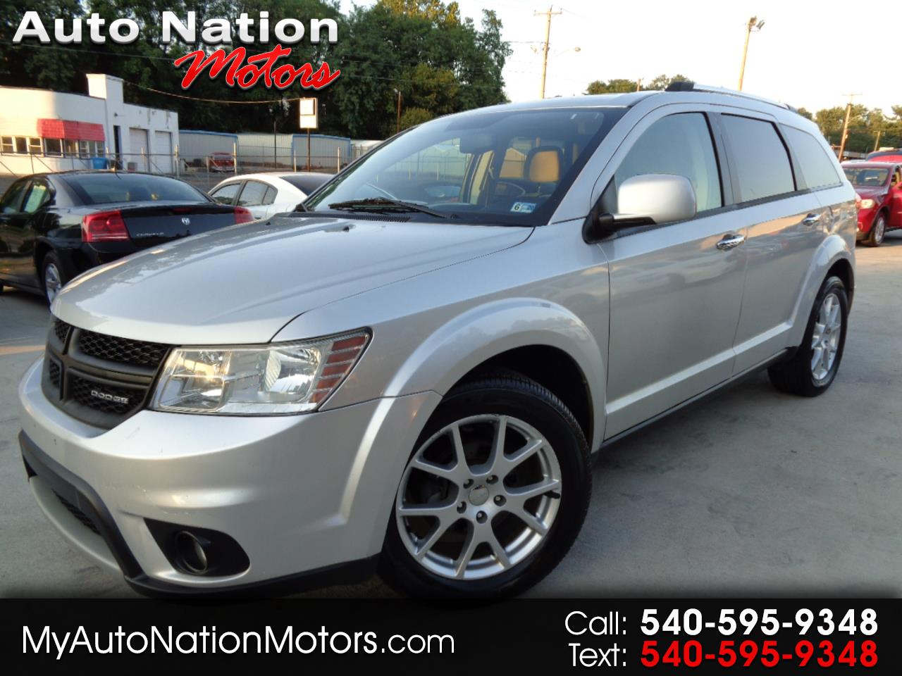 Dodge Journey FWD 4dr Crew 2011