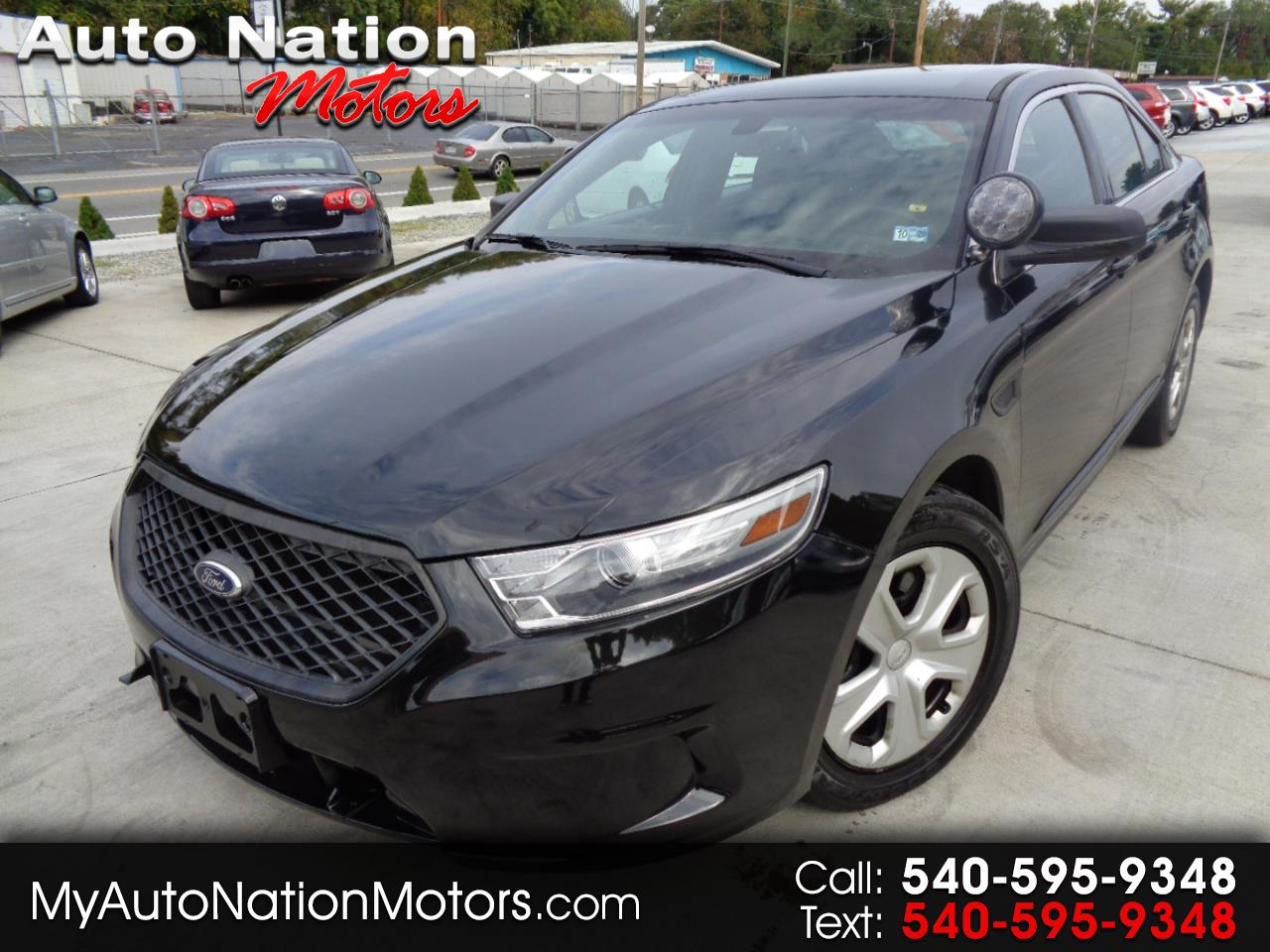 Ford Sedan Police Interceptor 4dr Sdn AWD 2013