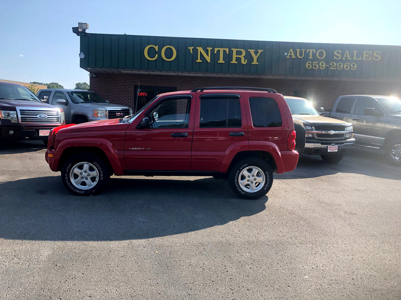 Jeep Liberty Limited 4WD 2002