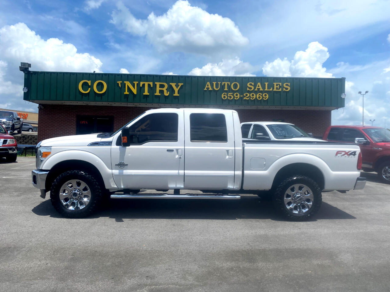 Ford F-250 SD Lariat Crew Cab Short Bed 4WD 2016