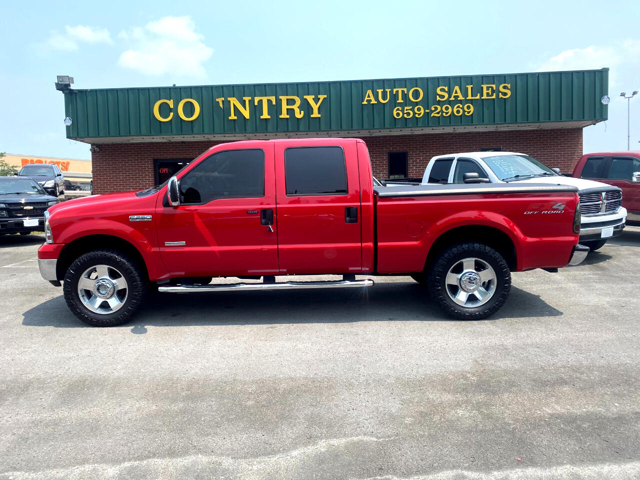 Ford F-250 SD Lariat Crew Cab Short Bed 4WD 2006